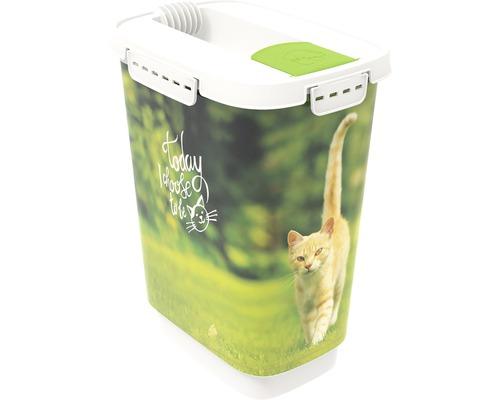 Boîte à nourriture pour animaux Cody 10 l 24,3x17,9x32,2cm vert