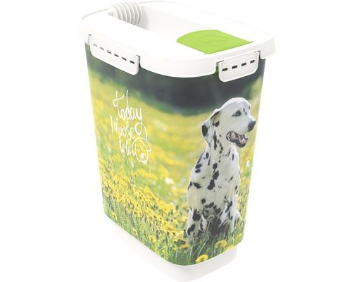 Boîte à nourriture pour animaux Cody chien 10 l 24,3x17,9x32,2 cm vert