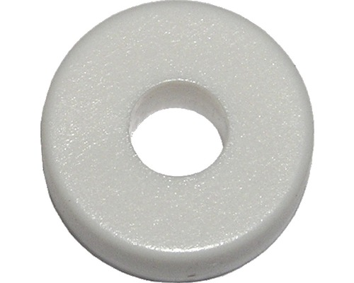 Abstandsscheibe f.Nummernschild weiß, 100 Stück