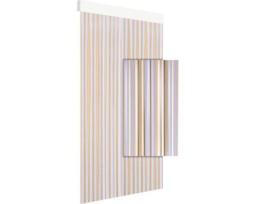 Rideau de porte art.16 blanc transparent 90x210cm