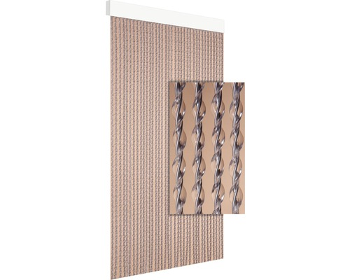 Rideau de porte Art. 24 gris 100x230 cm