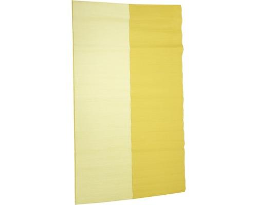 Tapis d''extérieur jaune clair-foncé 120x180 cm