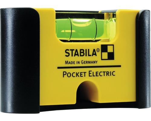 Elektriker Wasserwaage Stabila Type 101 Pocket electric, 7 cm