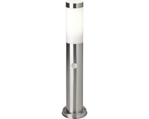 Borne extérieure LED Dody avec détecteur de mouvement 10W E27 acier inoxydable