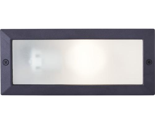 Éclairage ext. encastré LED Flossy 25W E27 noir