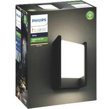 Applique murale LED Philips hue Fuzo White Ambiance 15W 1150 lm 2700 K blanc chaud noir h 221 mm - compatible avec SMART HOME by HORNBACH-thumb-2