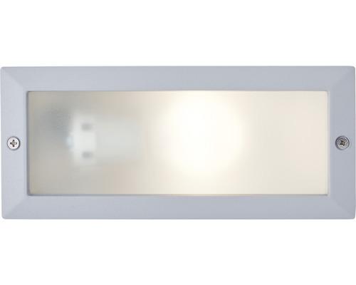 Éclairage ext. encastré LED Flossy 25W E27 argent