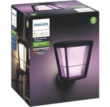 Applique murale LED Philips hue Econic White & Color Ambiance 15 W 1 150 lm noir H 301 mm-thumb-2