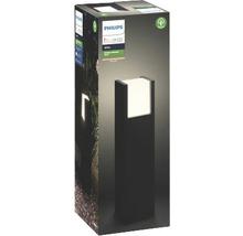 Borne LED Philips hue Fuzo White 15W 1150 lm 2700 K blanc chaud noir h 400 mm - compatible avec SMART HOME by HORNBACH-thumb-2
