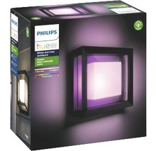 Applique murale LED Philips hue Econic White & Color Ambiance 15 W 1 150 lm noir H 115x260 mm-thumb-1