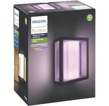 Applique murale Philips hue Impress White & Color Ambiance 8 W 1 200 lm noir H 240x190 mm-thumb-5