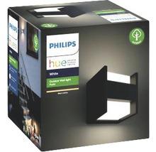 Applique murale LED Philips hue Fuzo White Ambiance 15W 1150 lm 2700 K blanc chaud noir h 130 mm - compatible avec SMART HOME by HORNBACH-thumb-2