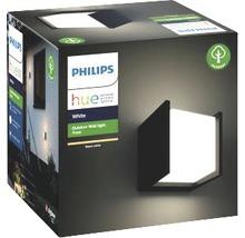 Applique murale LED Philips hue Fuzo White Ambiance 15W 1150 lm 2700 K blanc chaud noir 130x140 mm - compatible avec SMART HOME by HORNBACH-thumb-2