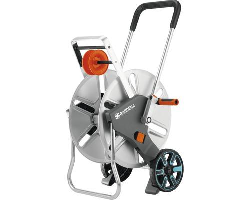 Dévidoir sur roues en métal GARDENA CleverRoll L Easy sans tuyau