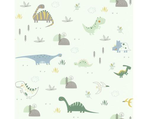 Papier peint 249330 dinosaures vert