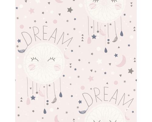 Papier peint 248753 attrape-rêves rose
