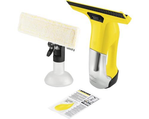 Nettoyeur de vitres aspirateur de vitres Kärcher WV 6 Plus avec pulvérisateur avec bonnette microfibre et chargeur