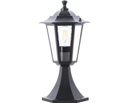 Lampadaire extérieur IP44 1ampoule hxØ 363x210 mm Carleen noir