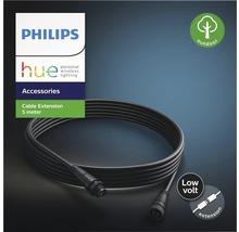 Rallonge électrique basse tension Philips hue IP44 pour luminaires extérieurs Hue Calla + Hue Lily 5 m noir-thumb-2