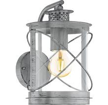 Applique extérieure 1 ampoule H 280mm Hilburn argent/antique-thumb-0