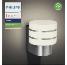 Applique murale LED Philips hue Tuar White Ambiance Outdoor 9,5 W 806 lm 2 700 K blanc chaud acier inoxydable H 185 mm-thumb-2