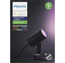 Spot LED Philips hue spot individuel Lily White & Color Ambiance Outdoor RGB 8W 640 lm 2000-6500 K noir H 194 mm compatible avec SMART HOME by hornbach-thumb-4