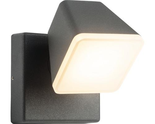 Applique extérieure LED Isacco 12,5W 1200lm anthracite