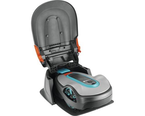 Garage pour tondeuse robot pour SILENO minimo / SILENO city / SILENO life