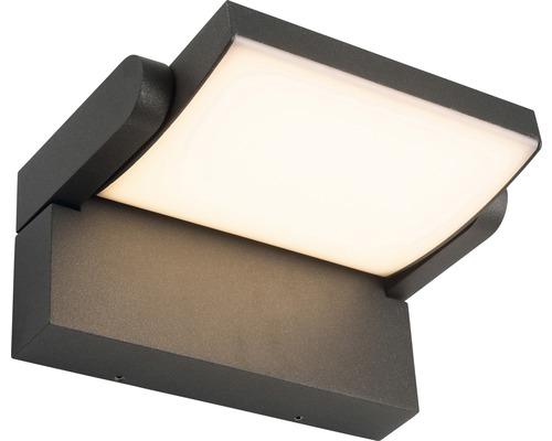 Applique extérieure LED Grady 12,5W 1200lm anthracite