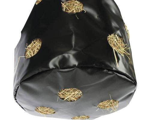 Sac à foin KERBL Hay Bag petit pour 8kg 37x70cm noir