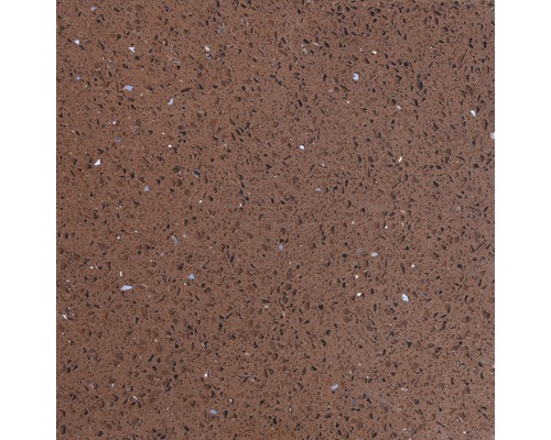Carrelage de sol, composite de quartz, marron, 30x30 cm