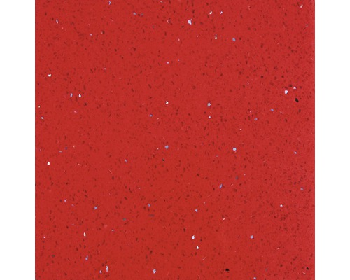 Carrelage de sol, composite de quartz, rouge, 30x30 cm