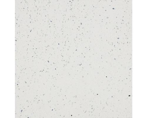 Quarzstein Wand- und Bodenfliese Weiß 60 x 60 cm