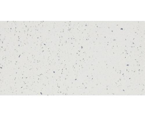 Carrelage de sol, composite de quartz, blanc, 30x60 cm