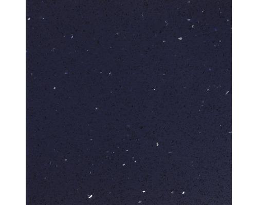Carrelage de sol, composite de quartz, bleu, 30x30 cm