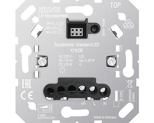 Insert variateur poussoir Standard LED Jung 1710 DE