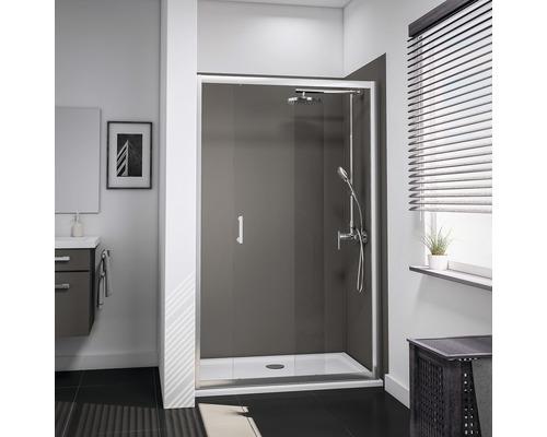 Porte de douche dans niche Schulte Lugano Verre transparent 1900 x 1200 mm