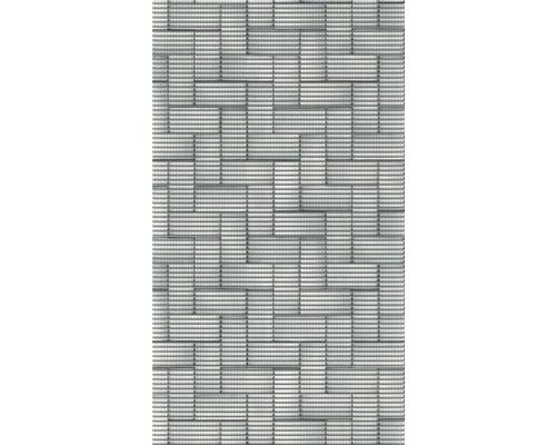 Tapis antidérapant en mousse souple Silver Tiles 65x180cm