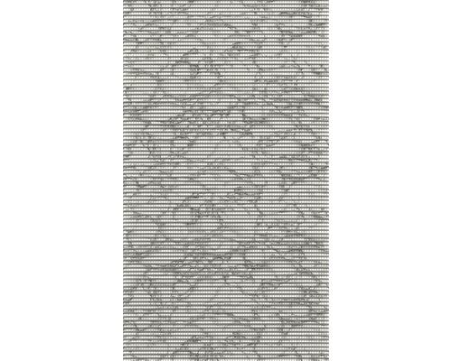 Tapis antidérapant Marble gris, largeur 130cm (au mètre)