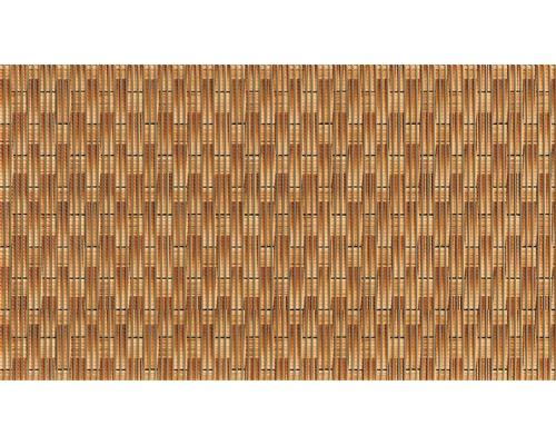 Tapis antidérapant Rattan marron, largeur 65cm