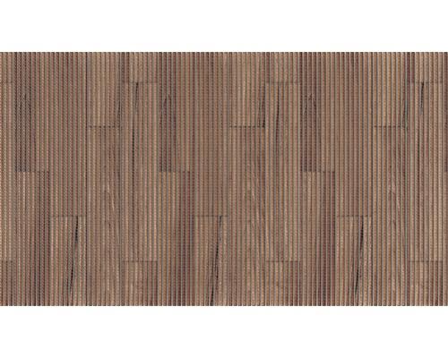 Tapis antidérapant Plank marron, largeur 130cm, au mètre
