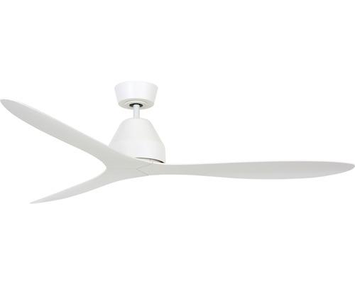Ventilateur de plafond blanc Lucci air Whitehaven Ø 142 cm avec télécommande, fonction été + hiver