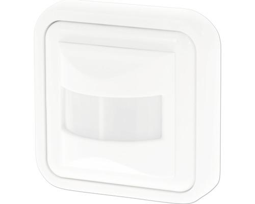 Détecteur de mouvements encastré dans mur, 160° max. 500W blanc