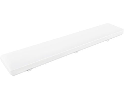 Réglette fluorescente LED blanc IP20 1x48W 4.000 K blanc neutre 900 mm