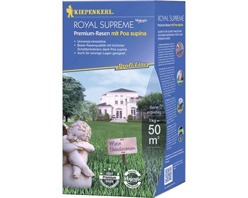 Semences de gazon Kiepenkerl P.L. Royal Supreme pour gazon Premium 1kg 50m²