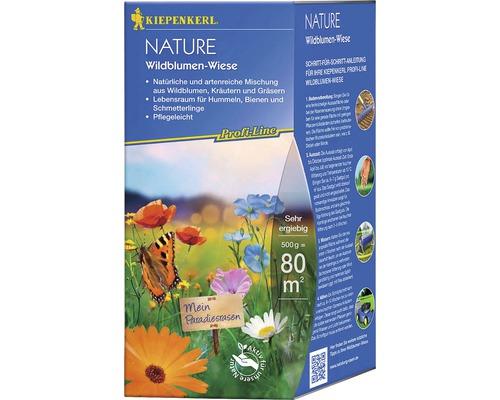 Semences de prairies de fleurs Kiepenkerl P.L.Nature prairie de fleurs sauvages 0,5kg 80m²