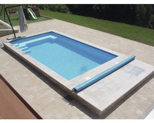 Bâche de recouvrement de sécurité pour piscine 700x350cm