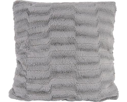 Dekokissen Felini grau 50x50 cm