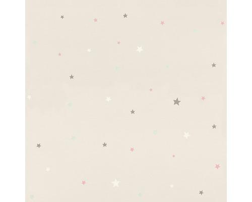 Papier peint 245257 Bambino XVIII étoiles crème