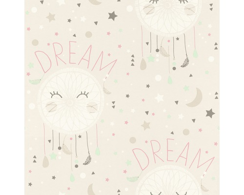 Papier peint 248777 Bambino XVIII attrape-rêves beige